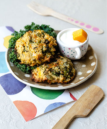 Carrot and Kale Quinoa Patties