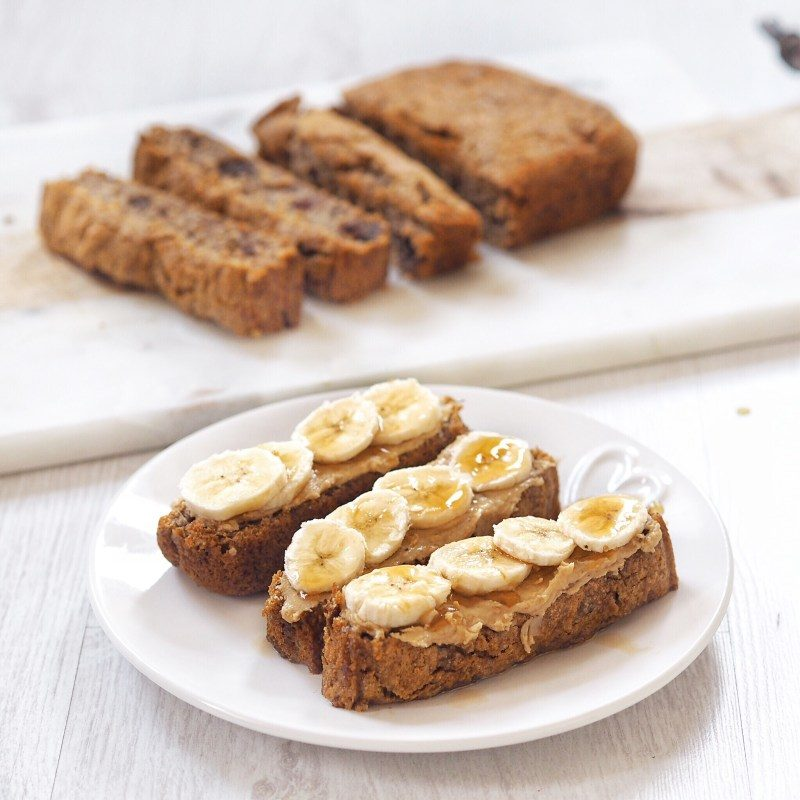 Date and Walnut Banana Bread