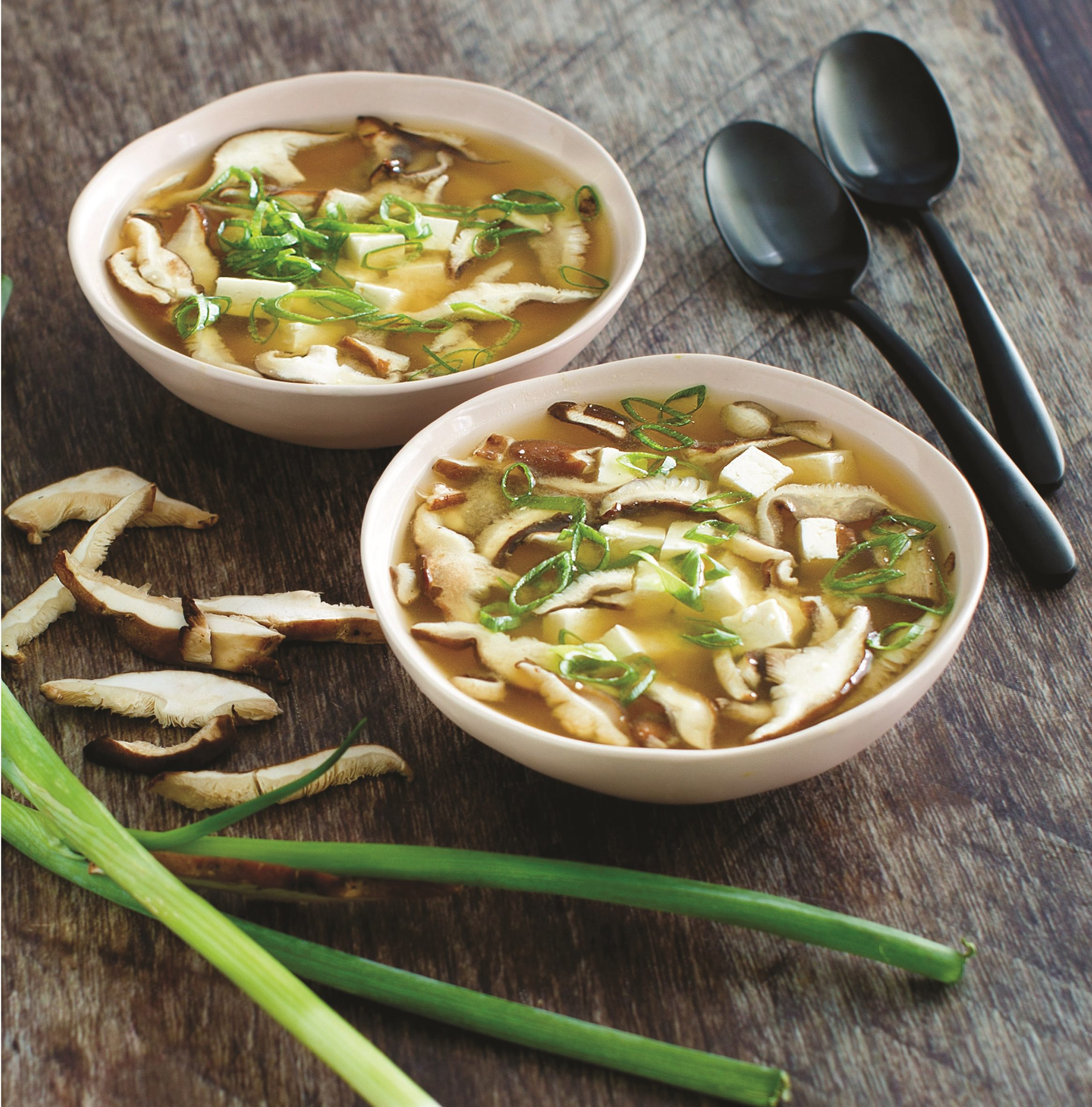 Garlic Miso and Onion Soup