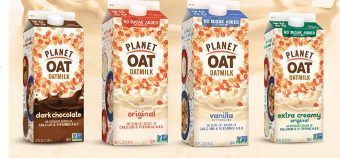 Planet Oat oatmilks