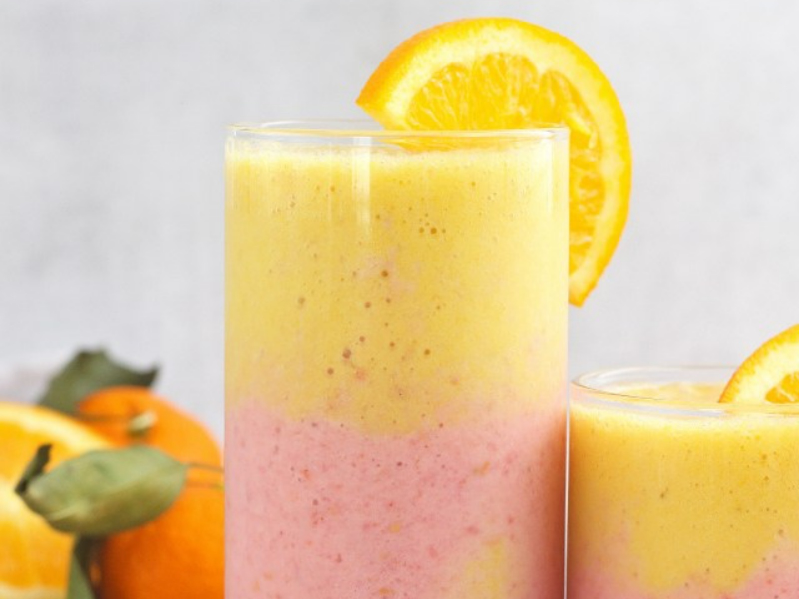Immune Boosting Orange Raspberry Smoothie