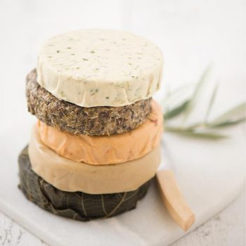 Miyoko's Kitchen vegan cheese wheels