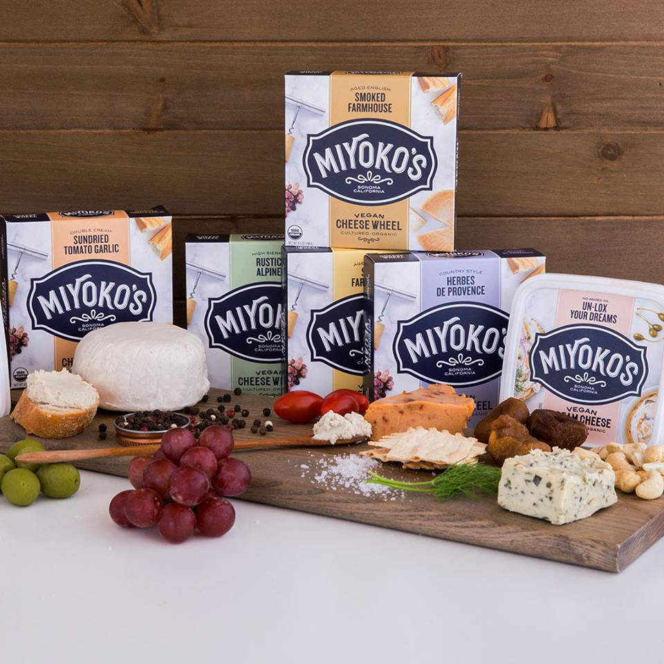 Miyoko's Kitchen vegan cheeses