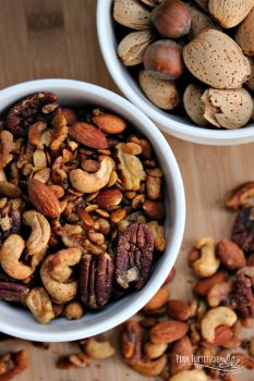 Sweet and Savory Spiced Nuts [Vegan]