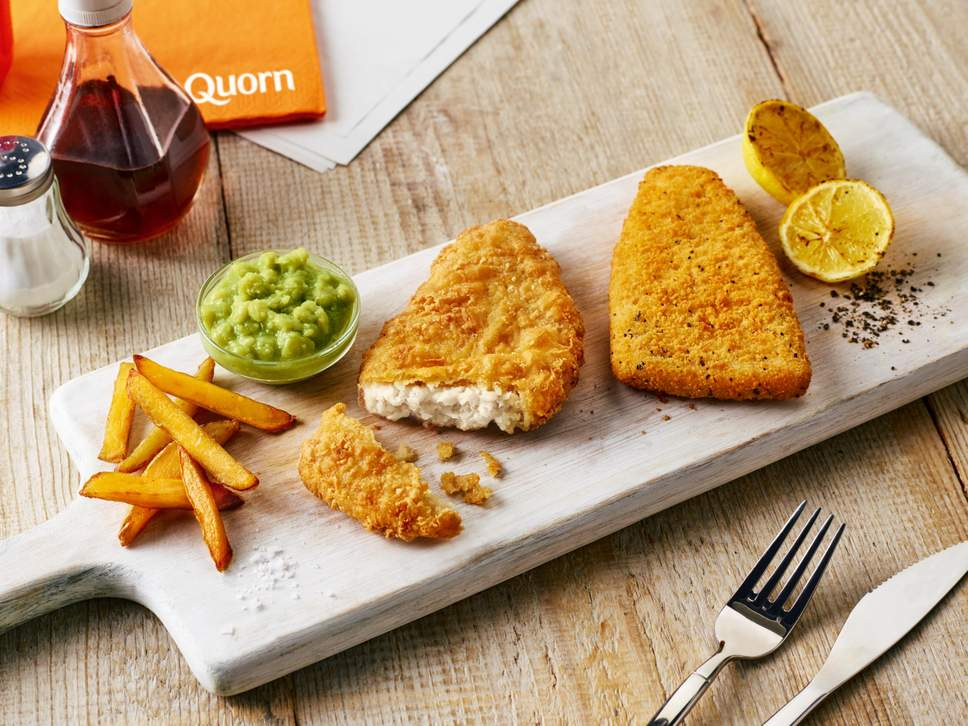Quorn Is Launching A Vegan Cod Fillet One Green Planet