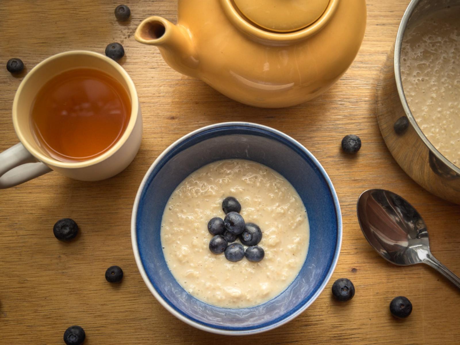 Vanilla Rooiboos Rice Pudding