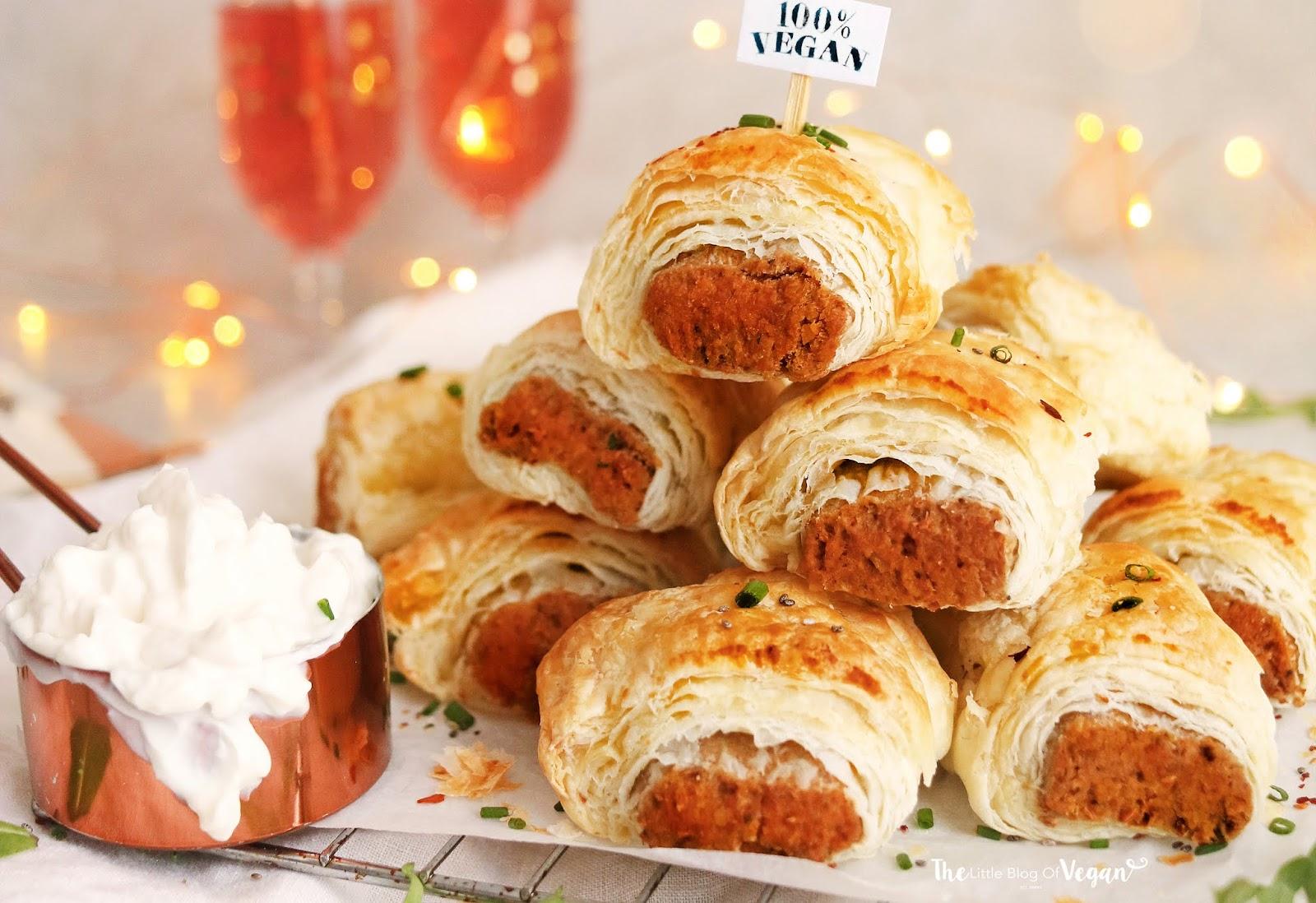 Vegan and Gluten-Free Sausage Rolls
