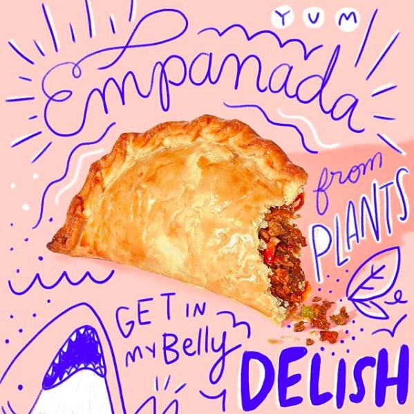 Impossible empanada