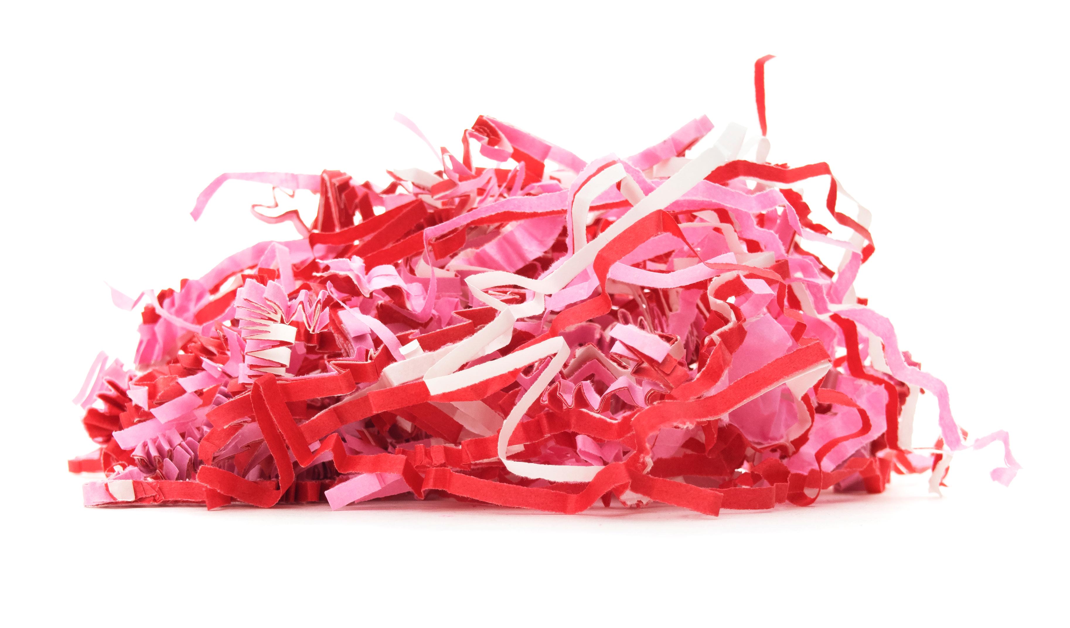 shredded confetti
