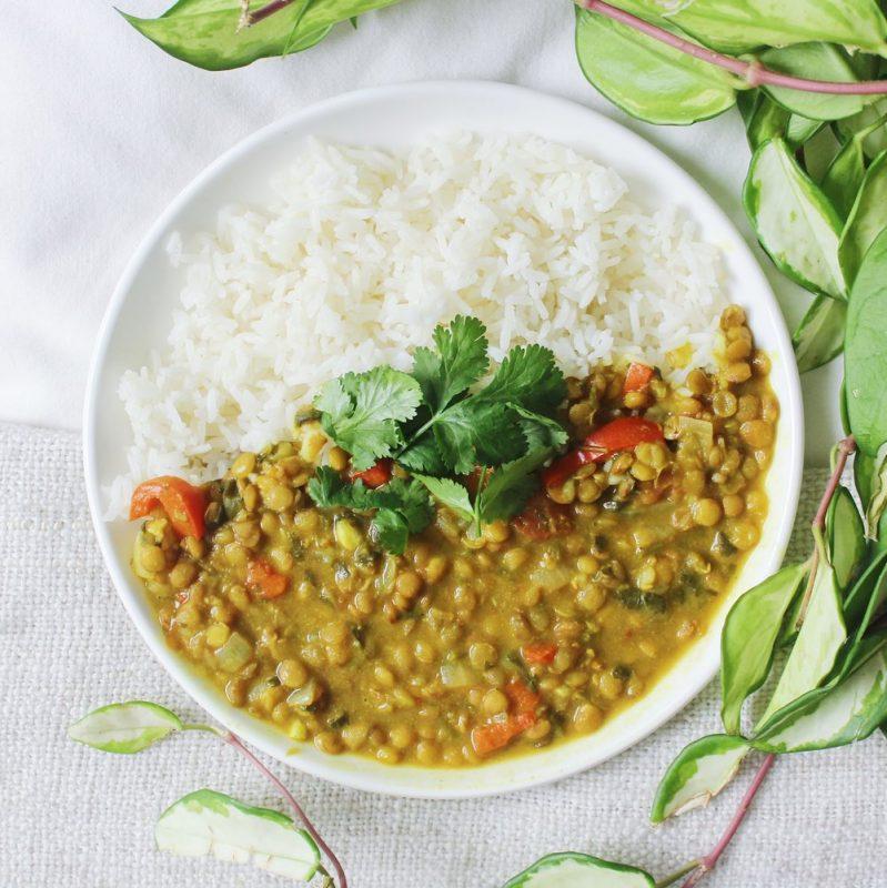 Vegan Coconut Lentil Curry