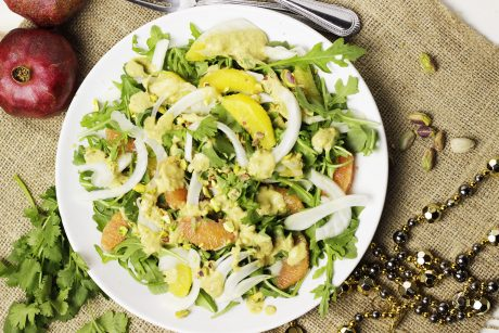 Orange and Fennel Arugula Salad
