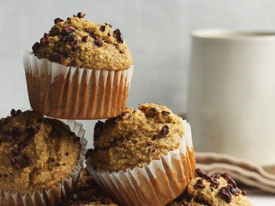 Vegan Banana Coffee Muffins
