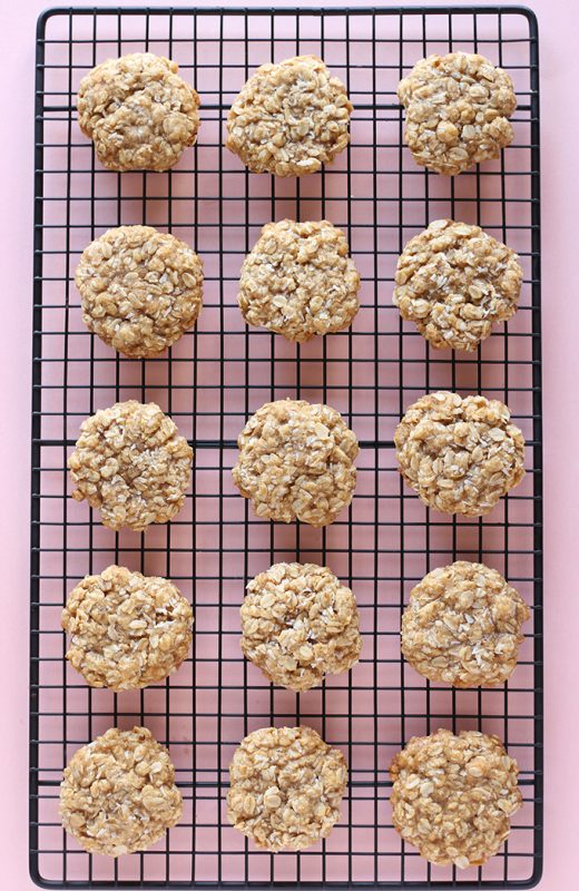 1 Bowl Coconut Oatmeal Cookies