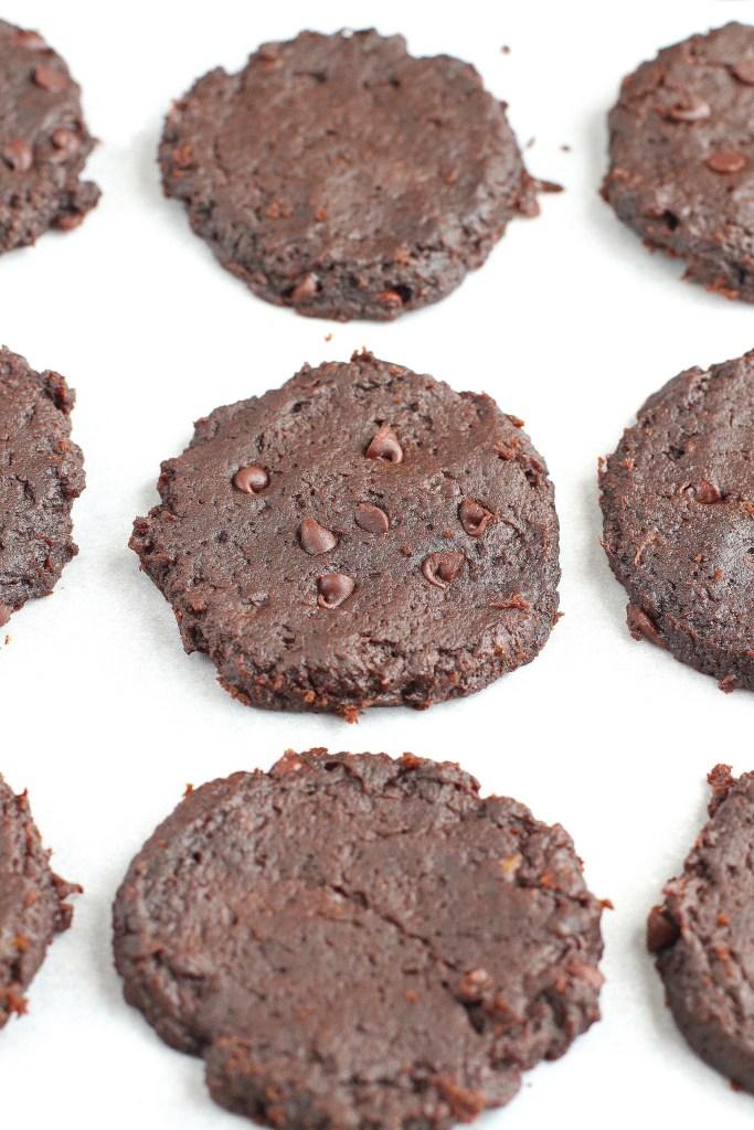 chocolate fudge cookies vegan