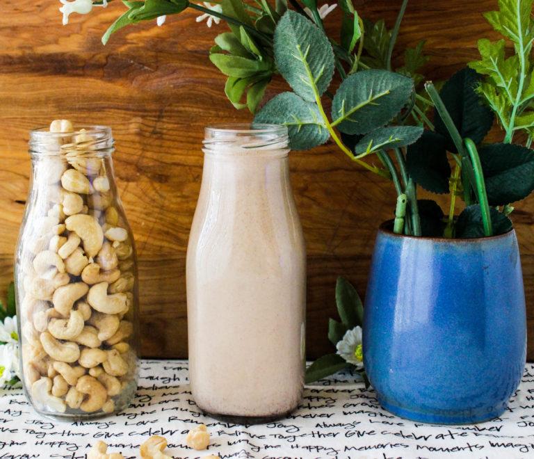 Chocolate Hazelnut Cashew Milk