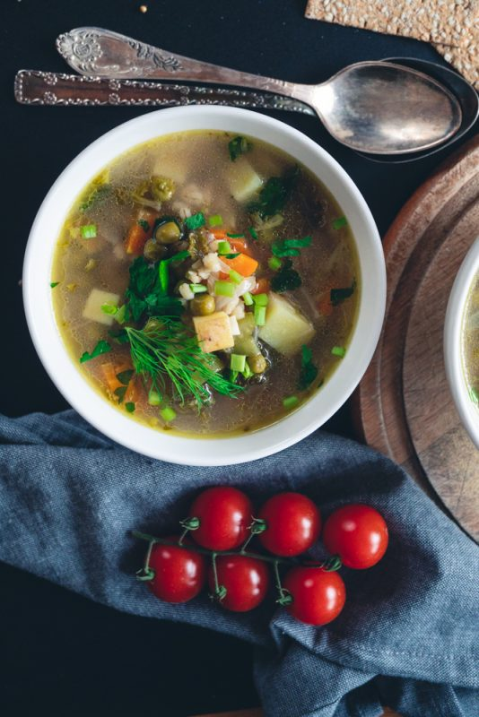 Vegan Barley Soup