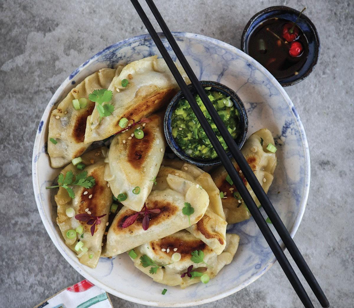New Year's Dumplings