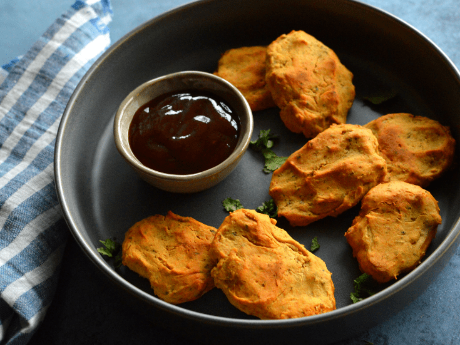 Vegan Crispy Protein Chickpea Nuggets