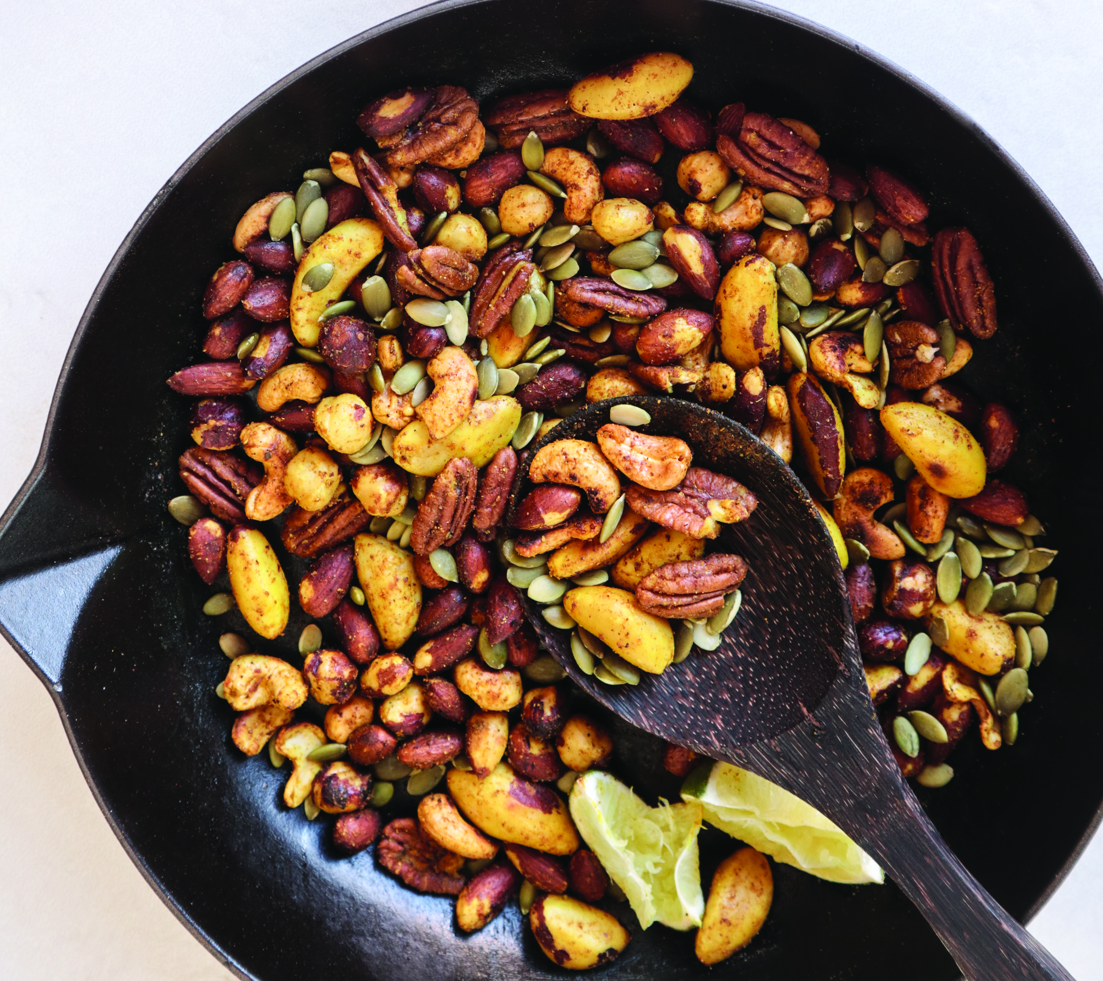 Curry Lime Trail Mix