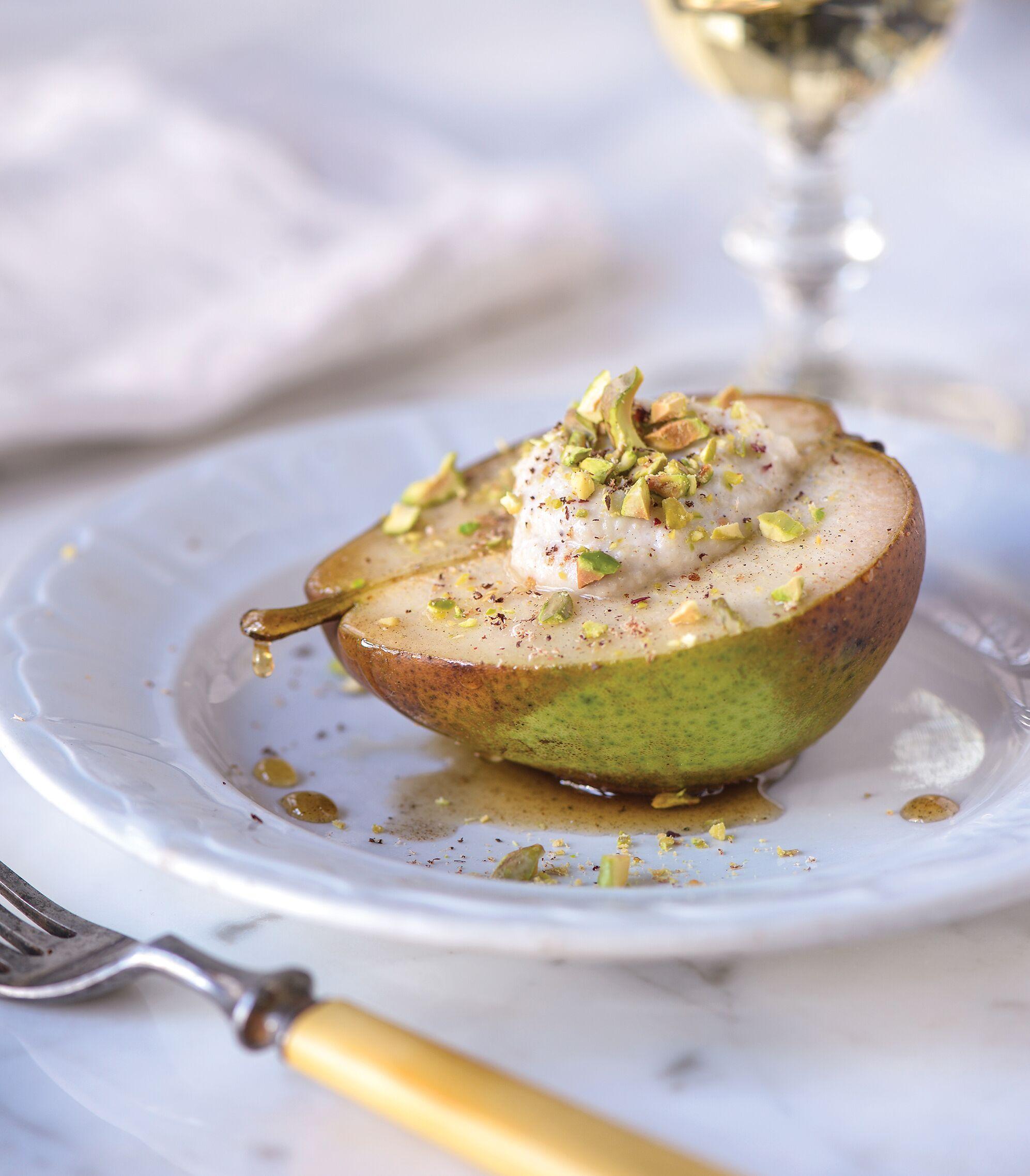 Chai Spice Pears