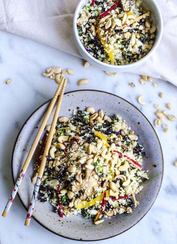 Cauliflower and Kale Fried Rice