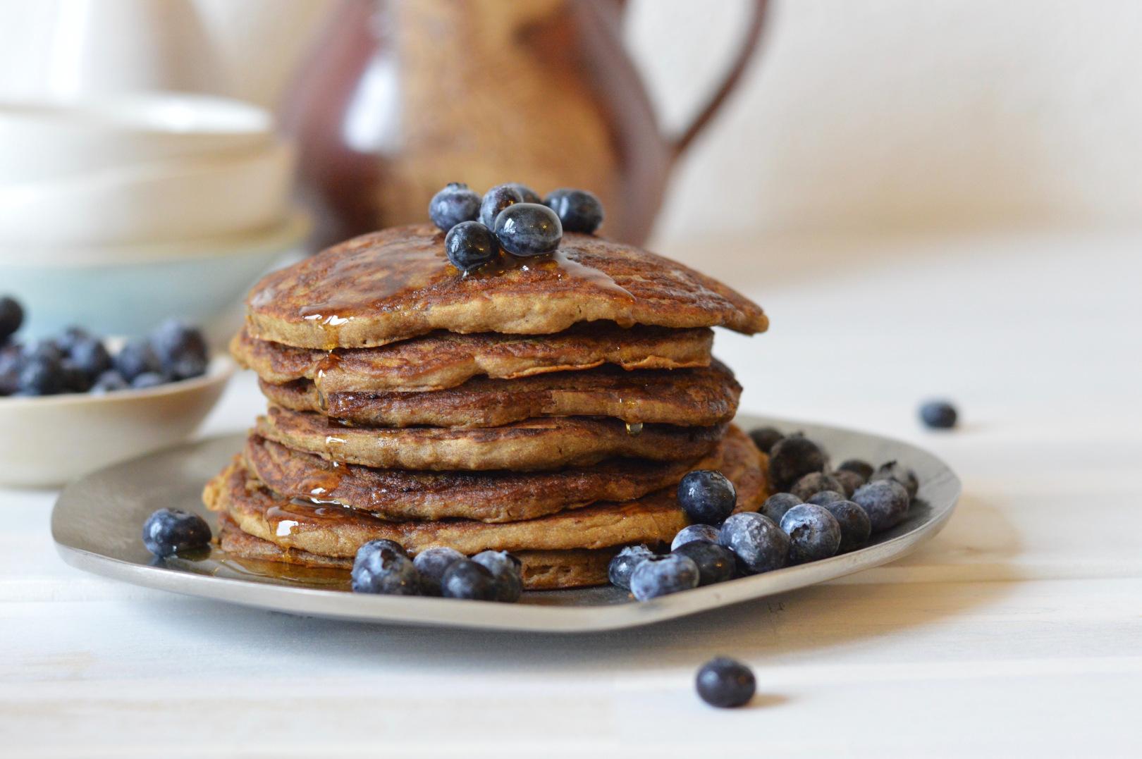 Vegan Teff Pancakes