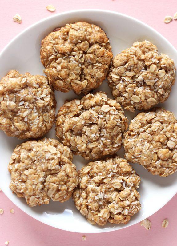Vegan 1 Bowl Coconut Oatmeal Cookies
