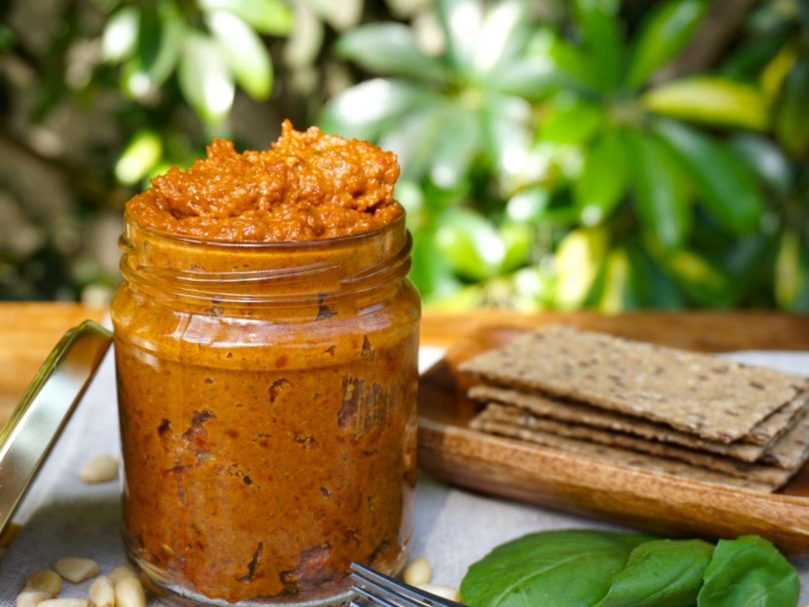 Vegan Sundried Tomato Pesto