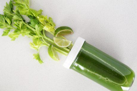 Celery juice for dehydration