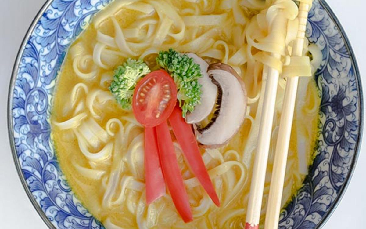 Easy Coconut Curry Vegan Ramen