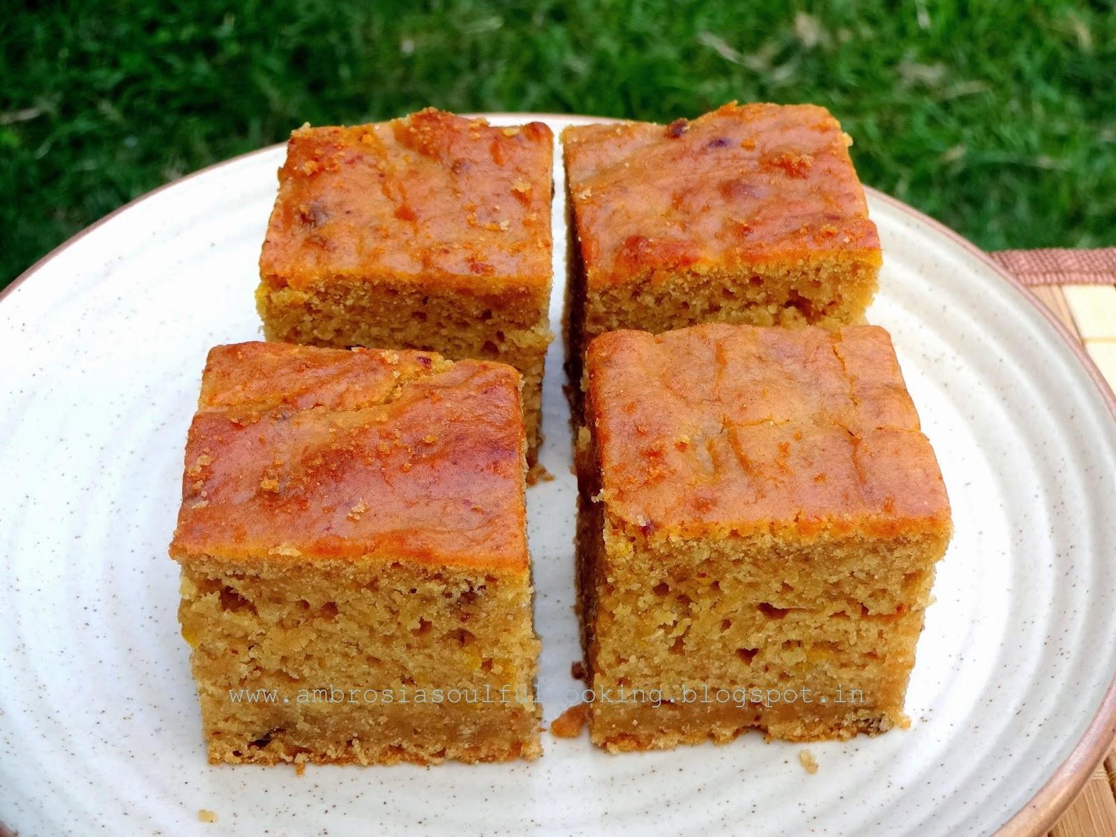 Date and Orange Cake