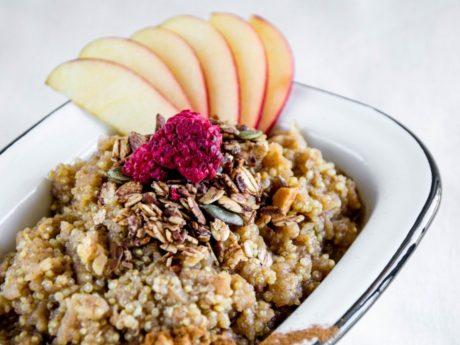 Apple Cinnamon Quinoa Porridge
