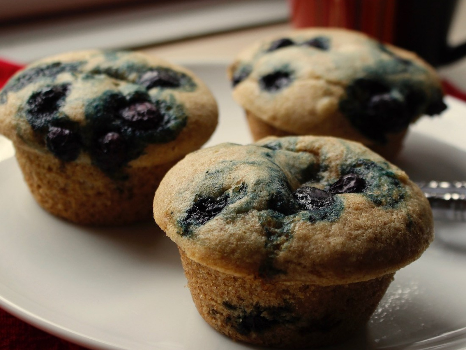 Vegan Blueberry Lemon Muffins
