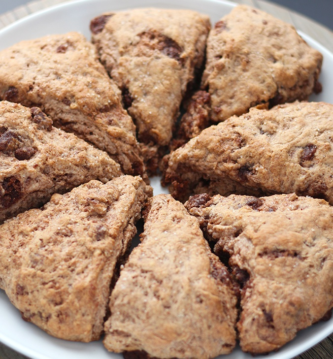 vegan cinnamon Scones