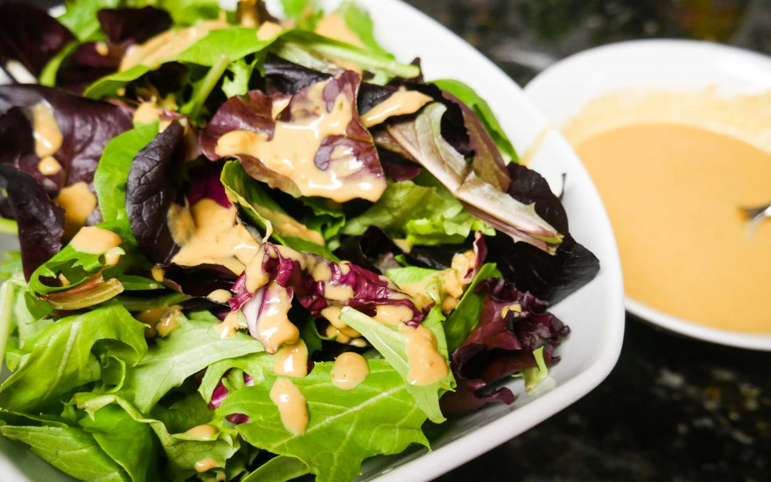 Tahini Salad Dressing [Vegan]