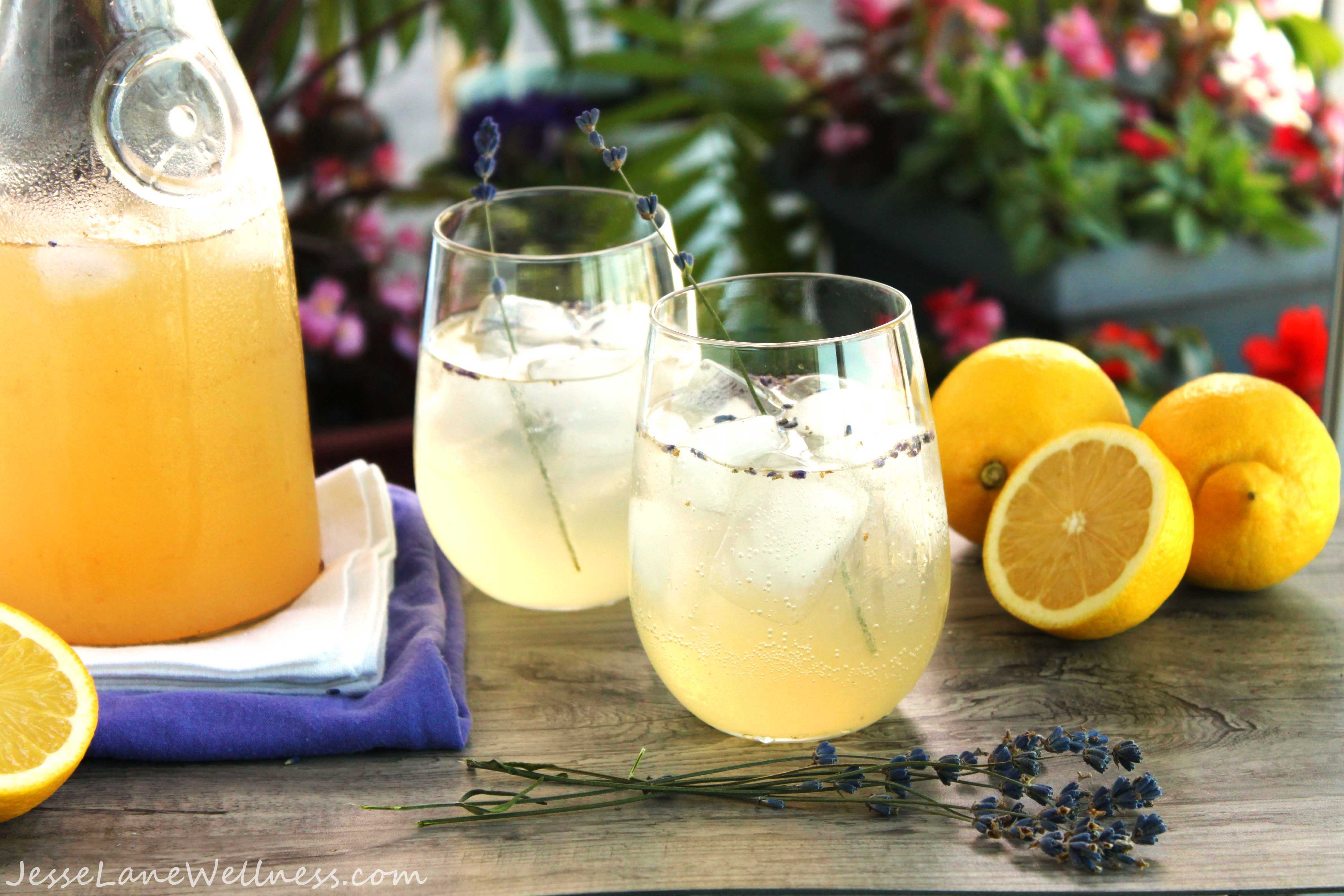 Lemonade with a Calming Twist