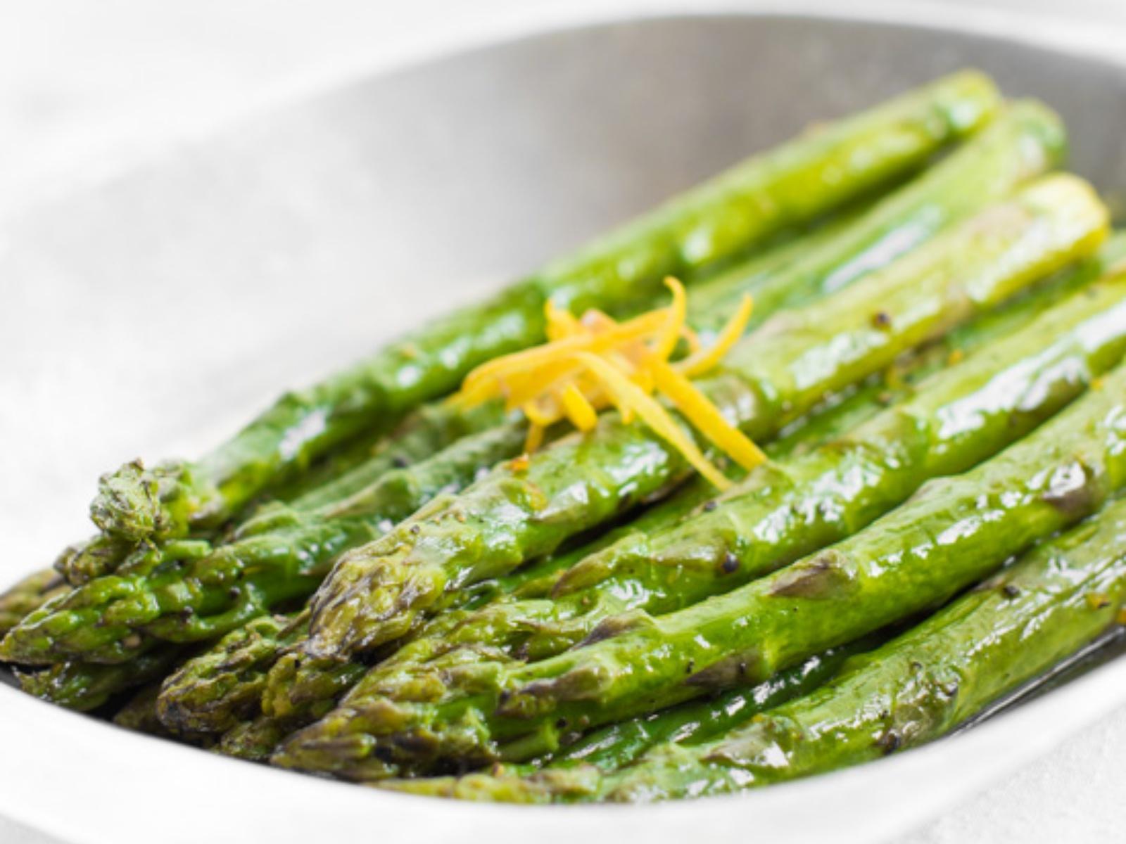 Lemon Sauteed Asparagus
