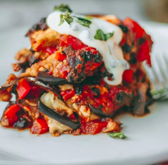 Egyptian Eggplant Moussaka Vegan One Green Planet