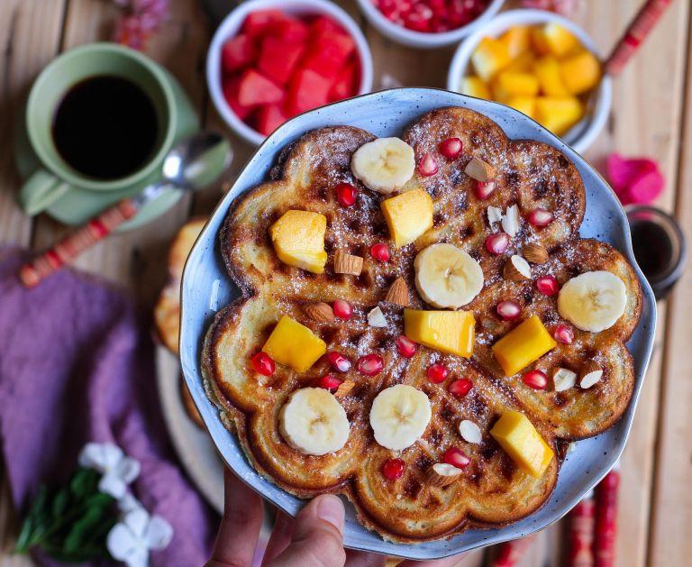 Vegan classic waffles