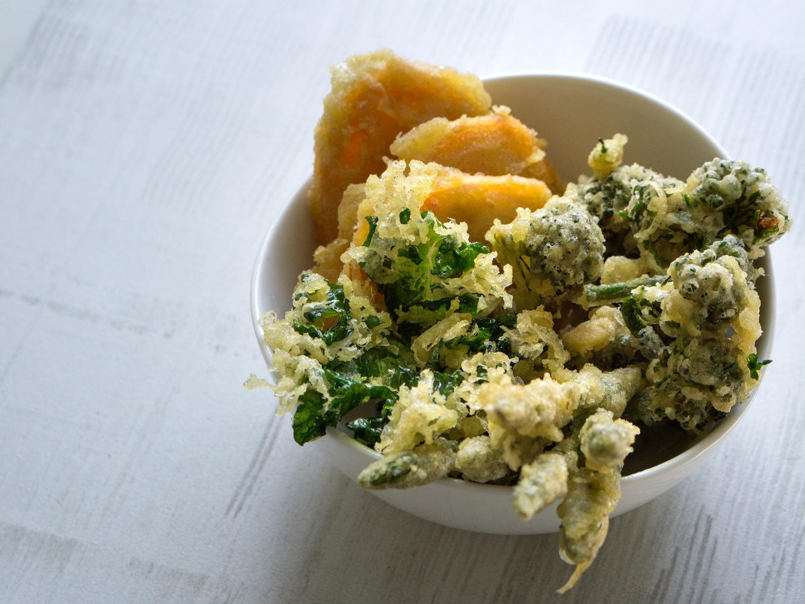 Crunchy Veggie Tempura