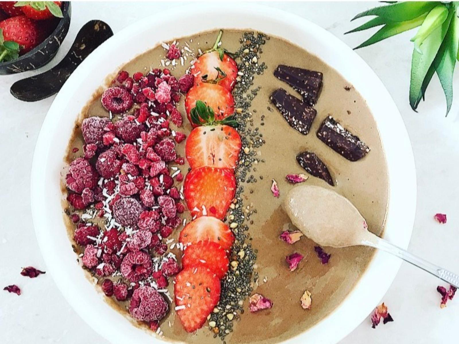 Vegan Chocolate Smoothie Bowl