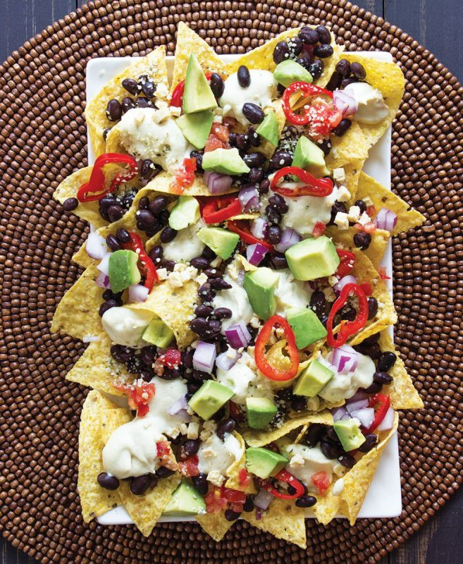 10 Sweet and Savory Vegan Nachos!