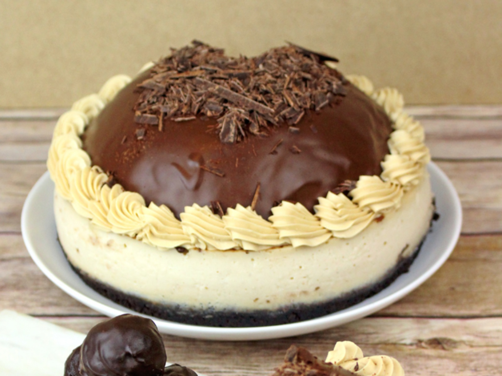Chocolate Mousse Cheesecake