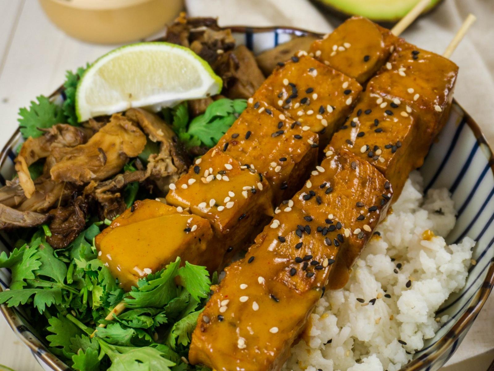 Tofu Satay Skewers