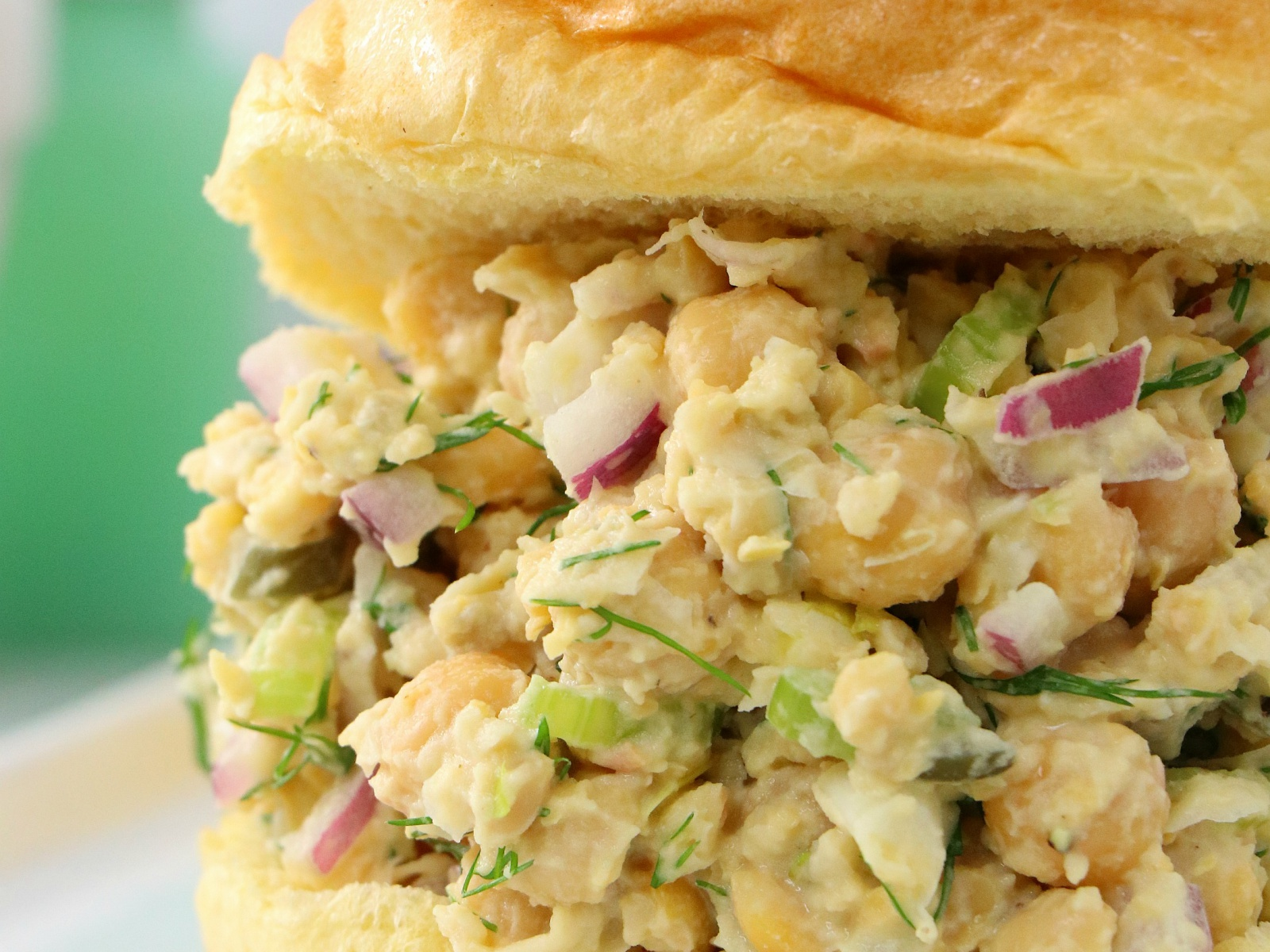 Chickpea Tuna Salad