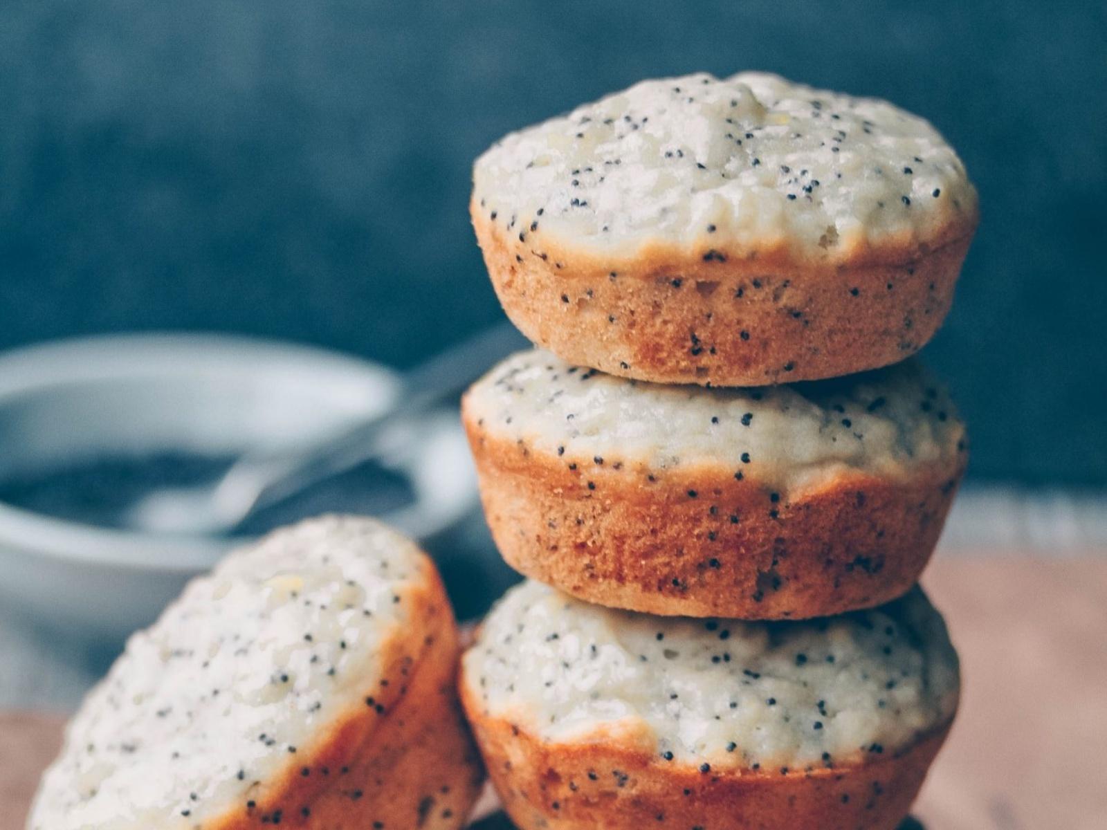Lemon Poppy Seed MuffinsVegan