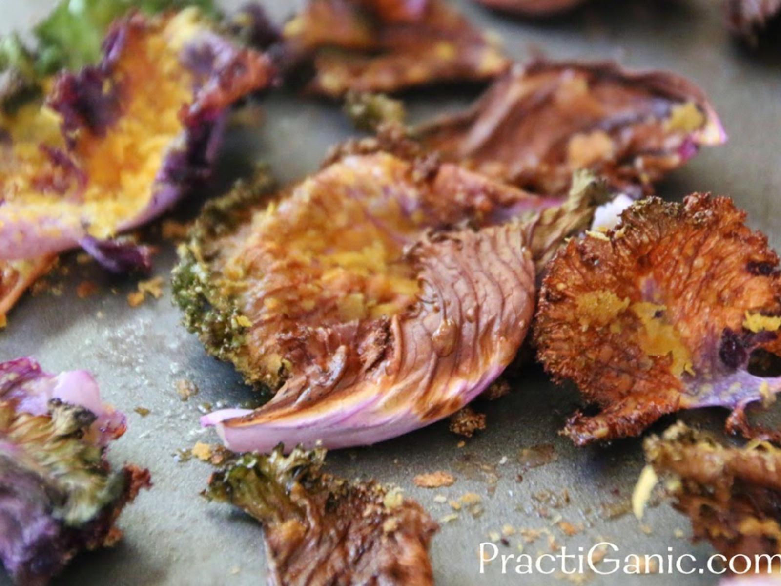 Vegan Baked Kale Chips