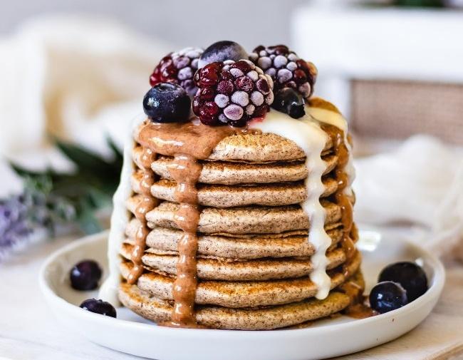 Buckwheat-Oat Pancakes