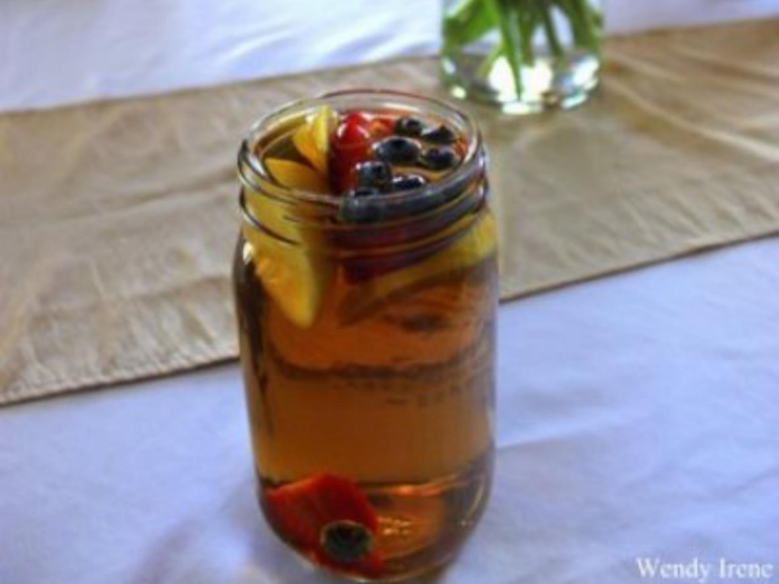 Fruit Infused Sun Tea