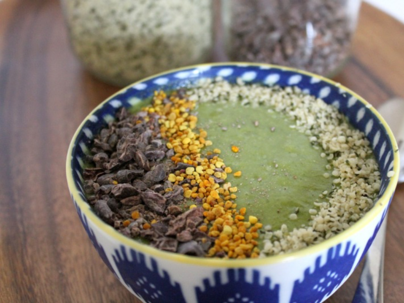 Vegan Superpower Smoothie Bowl
